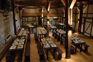 MMI-Das Hotel: Feiern sind in der alten Kornscheune für bis zu 80 Personen möglich.